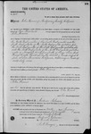 001418, US Land Patent, T24S, R11E, John Hames, Jan. 10, 1868, and BLM Land Patent Detail Sheet