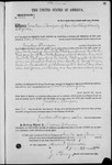 001691, US Land Patent, T24S, R11E, Jonathan Thompson, Nov. 10, 1868, and BLM Land Patent Detail Sheet