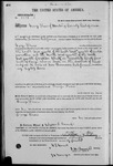 002012, US Land Patent, T24S, R11E, George Davis, May 10, 1870, and BLM Land Patent Detail Sheet