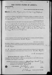 002254, US Land Patent, T24S, R11E, Jonathan Thompson, May 2, 1870, and BLM Land Patent Detail Sheet