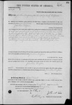003274, US Land Patent, T24S, R11E, Jonathan Thompson, Nov. 20, 1871, and BLM Land Patent Detail Sheet