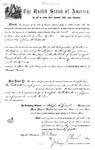 005427, US Land Patent, T24S, R11E, John A. Patchett, Nov. 1, 1870, and BLM Land Patent Detail Sheet