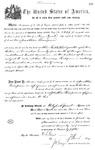 005429, US Land Patent, T24S, R11E, Jonathan Thompson, Nov. 1, 1870, and BLM Land Patent Detail Sheet