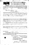108032, US Land Patent, T24S, R11E, Nathan F. Morgan, John Burke, Jonathan Thompson, Aug. 19, 1870, and BLM Land Patent Detail Sheet