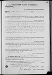 002658, US Land Patent, T25S, R09E, James Lynch, Feb. 15, 1871, and BLM Land Patent Detail Sheet