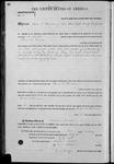 000131, U.S. Land Patent, T25S, R10E, James G. Denman, Feb. 1, 1862, and BLM Land Patent Detail Sheet