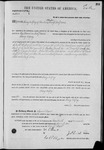 003266, U.S. Land Patent, T25S, R10E, Henry Godfrey, Nov. 20, 1871, and BLM Land Patent Detail Sheet