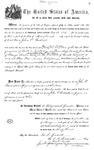 000174, US Land Patent, T25S, R11E, John P. Backesto, May 1, 1869, and BLM Land Patent Detail Sheet