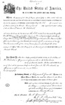 000175, US Land Patent, T25S, R11E, David H. Backesto, May 1, 1869, and BLM Land Patent Detail Sheet