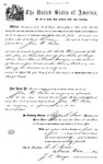 000996, US Land Patent, T25S, R11E, John W. Tucker, June 1, 1870, and BLM Land Patent Detail Sheet