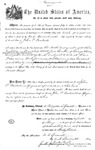 002162, US Land Patent, T25S, R11E, John P. Backesto, May 1, 1869, and BLM Land Patent Detail Sheet