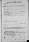 002681, US Land Patent, T25S, R11E, Patrick J. White, Nov. 10, 1870, and BLM Land Patent Detail Sheet