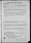 002690, US Land Patent, T25S, R11E, Jacob Glassman, Nov. 10, 1870, and BLM Land Patent Detail Sheet