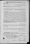 003138, US Land Patent, T25S, R11E, Robert G. Flint, Oct. 5, 1871, and BLM Land Patent Detail Sheet