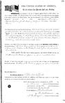 098926, US Land Patent, T25S, R11E, Nathaniel M. Miller, Manuel, Nov. 5, 1862, and BLM Land Patent Detail Sheet
