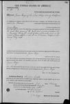 000190, US Land Patent, T25S, R14E, James Keyes, Feb. 1, 1864, and BLM Land Patent Detail Sheet