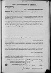 002279, US Land Patent, T25S, R14E, George C. Arnold, May 2, 1870, and BLM Land Patent Detail Sheet