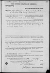 000199, US Land Patent, T26S, R11E, Isaac Foster, Vincent Foster, Arthur Foster, July 1, 1865, and BLM Land Patent Detail Sheet