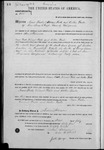 000200, US Land Patent, T26S, R11E, Isaac Foster, Vincent Foster, Arthur Foster, July 1, 1865, and BLM Land Patent Detail Sheet