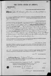 001896, US Land Patent, T26S, R11E, John W. Hendrie, July 10, 1869, and BLM Land Patent Detail Sheet