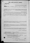 001977, US Land Patent, T26S, R11E, Thomas Dickerson, July 10, 1869, and BLM Land Patent Detail Sheet