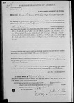 003199, US Land Patent, T26S, R11E, Thomas Dickerson, Oct. 5, 1871, and BLM Land Patent Detail Sheet
