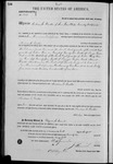002887, US Land Patent, T26S, R12E, Andrew C. Beattie, Aug. 10, 1871, and BLM Land Patent Detail Sheet