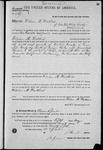 002767, US Land Patent, T26S, R13E, William R. Watkins, May 5, 1871, and BLM Land Patent Detail Sheet