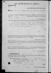 000143, US Land Patent, T26S, R14E, David P. Mallagh, Feb. 1, 1862, and BLM Land Patent Detail Sheet