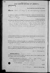 000145, US Land Patent, T26S, R14E, David P. Mallagh, Feb. 1, 1862, and BLM Land Patent Detail Sheet