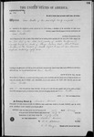 000146, US Land Patent, T26S, R14E, Isaac Yoakum, Feb. 1, 1862, and BLM Land Patent Detail Sheet