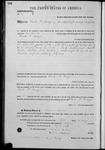 000147, US Land Patent, T26S, R14E, David P. Mallagh, Feb. 1, 1861, and BLM Land Patent Detail Sheet