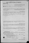 000154, US Land Patent, T26S, R14E, Isaac Yoakum, Feb. 1, 1862, and BLM Land Patent Detail Sheet