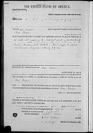 000158, US Land Patent, T26S, R14E, Isaac Yoakum, Feb. 1, 1862, and BLM Land Patent Detail Sheet