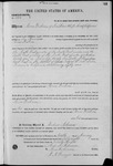 001358, US Land Patent, T26S, R14E, Isaac Yoakum, Jan. 10, 1868, and BLM Land Patent Detail Sheet