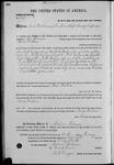 001361, US Land Patent, T26S, R14E, Isaac Yoakum, Jan. 1, 1868, and BLM Land Patent Detail Sheet