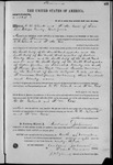 001534, US Land Patent, T26S, R14E, C. W. Clark, F. M. Cox, Nov. 10, 1868, and BLM Land Patent Detail Sheet