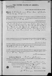 001542, US Land Patent, T26S, R14E, C. W. Clark, F. M. Cox, Nov. 10, 1868, and BLM Land Patent Detail Sheet