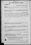 002141, US Land Patent, T26S, R14E, Robert G. Flint, Aug. 10, 1869, and BLM Land Patent Detail Sheet