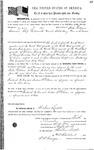 097457, US Land Patent, T26S, R14E, Frederick M. Cox, Andrew J. Pelham, John Pattison, Dec. 10, 1861, and BLM Land Patent Detail Sheet