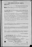 001062, US Land Patent, T26S, R15E, Philip Biddal, May 1, 1867, and BLM Land Patent Detail Sheet