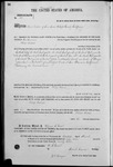 001300, US Land Patent, T26S, R15E, Philip Biddel, Mar. 20, 1869, and BLM Land Patent Detail Sheet