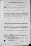 001340, US Land Patent, T26S, R15E, Philip Biddel, Mar. 20, 1869, and BLM Land Patent Detail Sheet