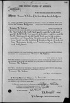 001849, US Land Patent, T27S, R09E, Francis M. Gibson, May 10, 1870, and BLM Land Patent Detail Sheet