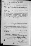 001858, US Land Patent, T27S, R09E, John Ashbill, May 10, 1870, and BLM Land Patent Detail Sheet