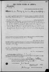 002184, US Land Patent, T27S, R09E, Reuben Philips, May 10, 1870, and BLM Land Patent Detail Sheet