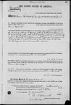 002204, US Land Patent, T27S, R09E, Parmer M. Scott, Nov. 10, 1869, and BLM Land Patent Detail Sheet