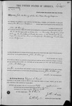 002652, US Land Patent, T27S, R10E, John W. Chesney, Oct. 5, 1871, and BLM Land Patent Detail Sheet