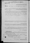 000141, US Land Patent, T27S, R13E, Achilles Geary, Feb. 1, 1862, and BLM Land Patent Detail Sheet