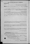 000193, US Land Patent, T27S, R13E, Oliver P. Mc Fadden, Feb. 1, 1864, and BLM Land Patent Detail Sheet